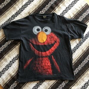 90s Vintage Elmo Changes Rap T-shirt Sesame Street